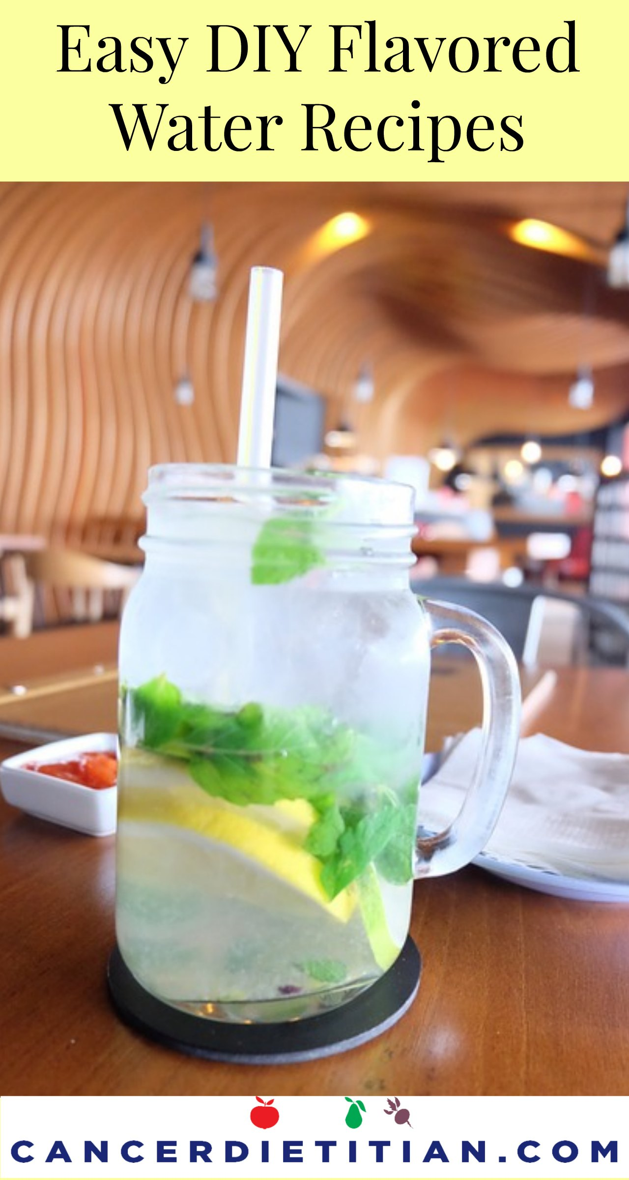 DIY Flavored Water Recipes