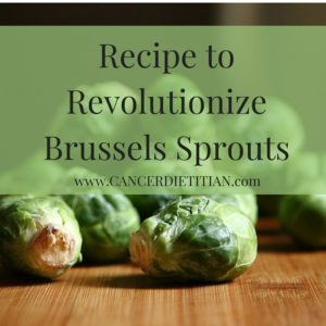 Recipe to Revolutionize Brussels Sprouts