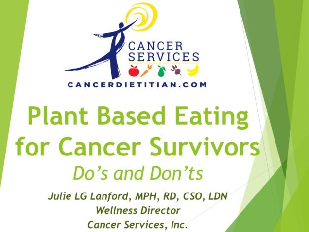 Plant-based Eating for Cancer Survivors Do's and Don'ts