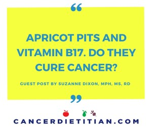 Apricot Pits and Vitamin b17. Do they cure cancer-