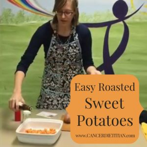 Easy Roasted Sweet Potatoes Blog Picture
