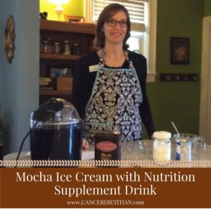 Mocha Ice Cream Made with Nutritional Supplement Drink (Canva)