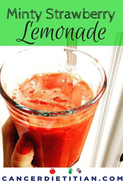 Minty Strawberry Lemonade graphic
