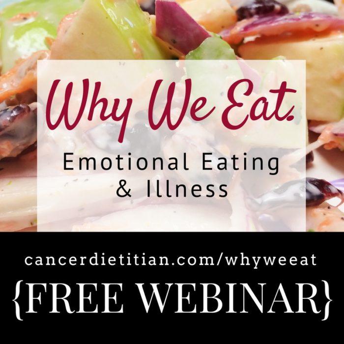 Why We Eat Emotional Eating Webinar